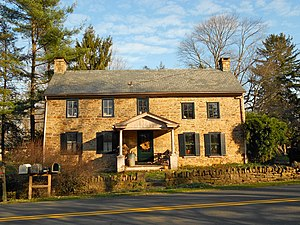Plumstead Township, Bucks County, Pennsylvania - House in the Dyerstown Historic District