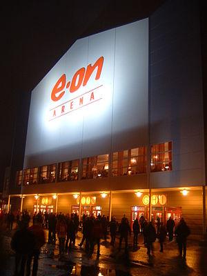 NHK Arena - Image: E.ON Arena Timrå Sweden