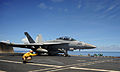 EA-18G of VAQ-141 on cat of USS George Washington (CVN-73) 2103.jpg