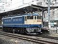 EF65 2065 Utsunomiya line in Ōmiya Station.jpg
