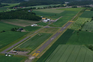 Tønsberg Airport, Jarlsberg - Image: ENJB