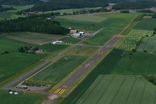 Tønsberg Airport, Jarlsberg airport in Sem, Norway