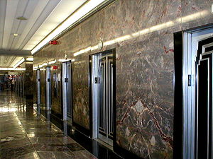 Skyscraper design and construction - Elevators in the Empire State Building