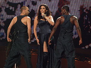 Netherlands in the Eurovision Song Contest - Image: ESC 2008 Netherlands Hind, 1st semifinal