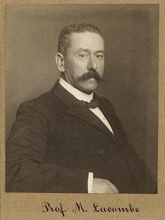Marius Lacombe Swiss mathematician