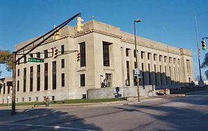 United States District Court for the Northern District of Indiana - The E. Ross Adair Federal Building, seat of the Fort Wayne division of the U.S. District Court for the Northern District of Indiana