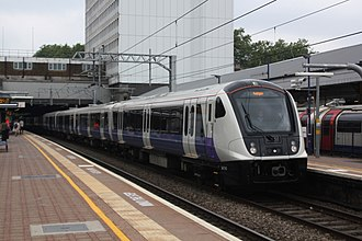 TfL Rail - Image: Ealing Broadway Tf L 345015 Paddington service