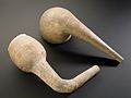 Earthenware retort, Europe, 1801-1930 Wellcome L0058365.jpg