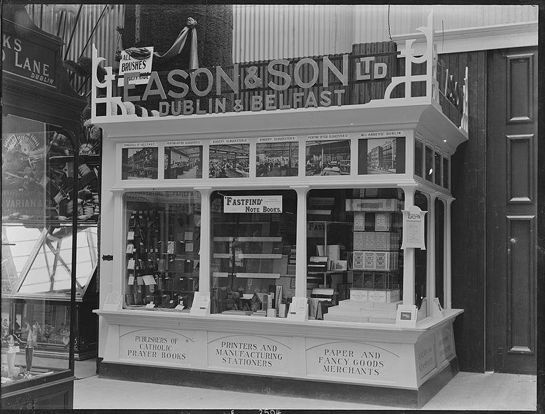 Old Eason books photo. From 28 Best Bookshops in Dublin