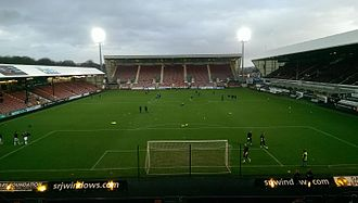 East End Park - View of East End Park from the Norrie McCathie stand