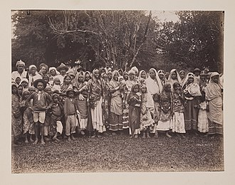 Non-resident Indian and person of Indian origin - Indian indentured laborers in Trinidad and Tobago, c. 1890-1896.