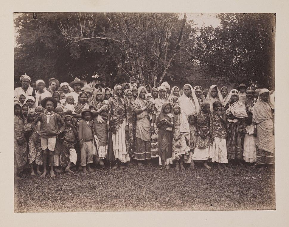 East Indian Women, Men and Children (13227675614)