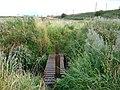 East Lothian Landscape , Footbridge over the Peffer Burn, near Markle - geograph.org.uk - 2039151.jpg