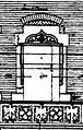 Eckhaus Klosterstraße 68a, Ecke Oststraße in Düsseldorf, erbaut 1898, Architekt Peter Paul Fuchs, Bauherr Ludwig Kraus, Detail Fenster mit Maßwerk in der Brüstung und spitzbogigem Fensterabschluss.jpg