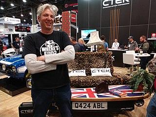 Edd China British motor specialist and television presenter (born 1971)