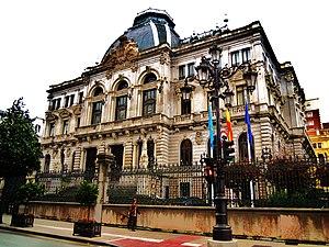 General Junta of the Principality of Asturias - Image: Edificiu Xunta Xeneral d'Asturies