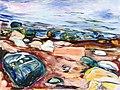 Edvard Munch - Beach with Rocks.jpg