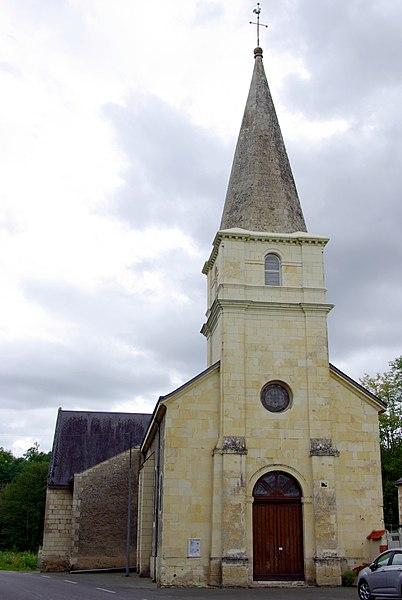 Église Notre-Dame de Gizeux.