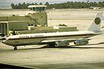 Egyptair B707-300 SU-AXK at BAH (15956996839).jpg
