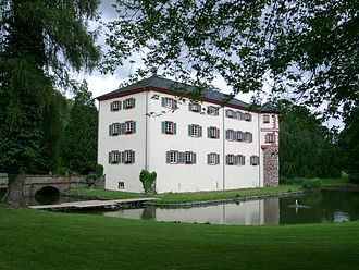Angelbachtal - A rear view of Schloss Eichtersheim