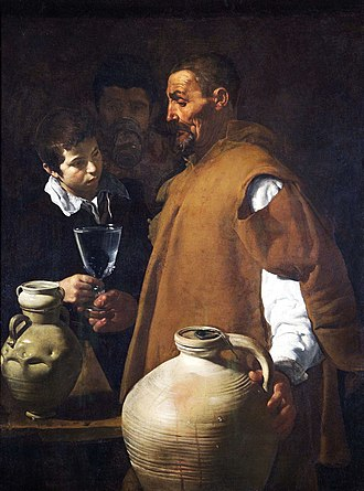 Wellington Collection - The Waterseller of Seville, Diego Velázquez, 1618–1622
