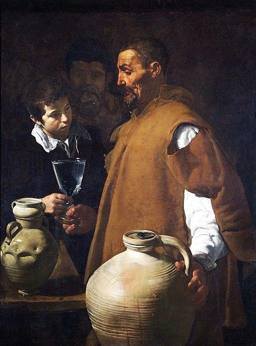 El aguador de Sevilla, por Diego Velázquez