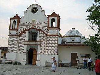 El Espinal, Oaxaca - Church in Espinal