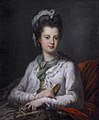 Elizabeth Kerr, née Fortescue, Marchioness of Lothian, by Angelica Kauffmann.jpg