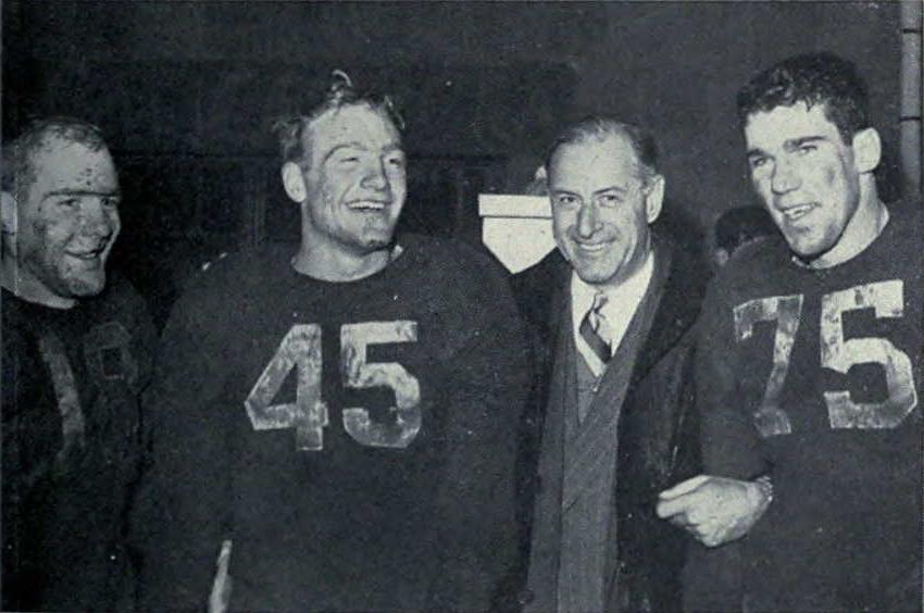 Elliott Brothers, Fritz Crisler and Bruce Hilkene