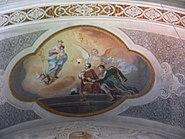 Ellwangen Ev Stadtkirche Deckengemälde Aloysius Stanislaus