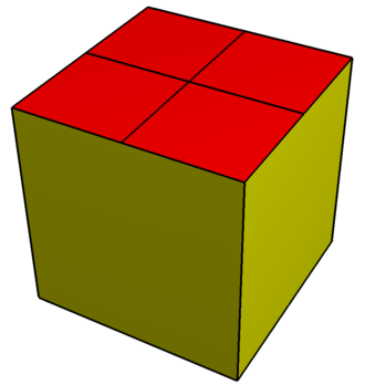 Elongated dodecahedron - Image: Elongated dodecahedron flat