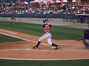 Elvis Andrus while playing for the Rome Braves.