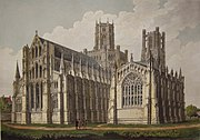North-east aspect of Ely Cathedral