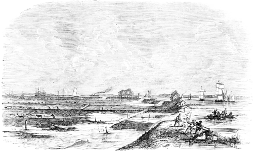 Embankments at High Spring Tide between Erith and Woolwich (transparent).png