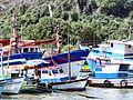 Embarcações na Prainha, Vila Velha ES.jpg