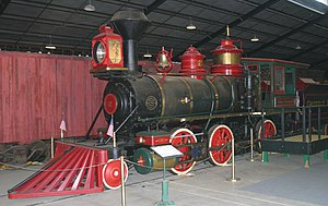 Orange Empire Railway Museum - Image: Emma nevada