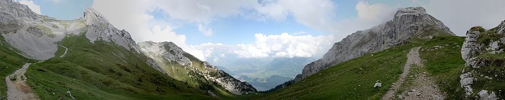 En route to the top of the Pilatus