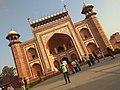 Entrance gate of THE GREAT TAJ MAHAL PIC 2.jpg