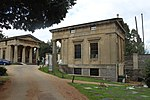 Entrance lodge and gates, Arnos Vale Cemetery