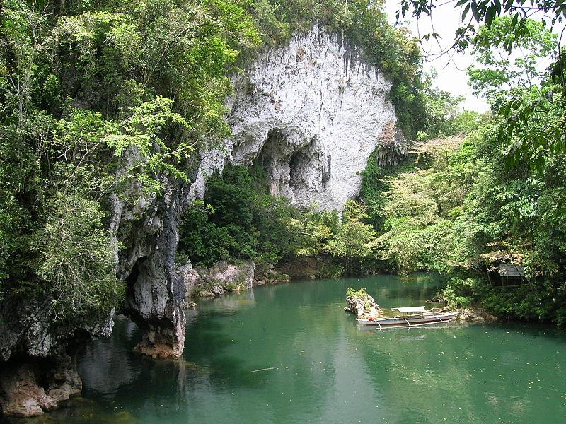 File:Entrance to Sohoton Natural Bridge National Park Samar Philippines 2.JPG
