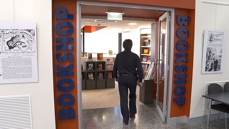 File:Entrance to the Aboriginal Studies Press bookshop.jpg