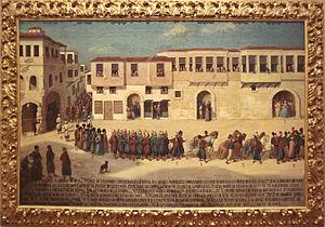 Joseph de Bauffremont - Entry of Joseph de Bauffremont into Smyrna, 28 September 1766.