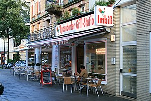 Dittsche - The film location: a real diner in Hamburg
