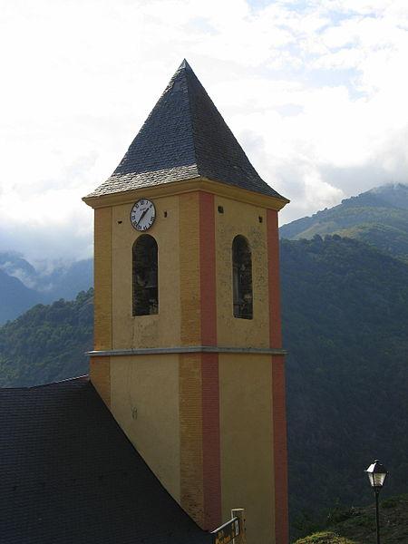 Torre de l'església de Canejan (Baix Aran)