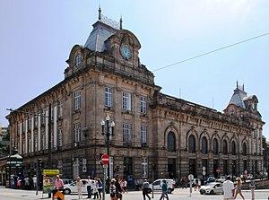 São Bento railway station - The main facade of the São Bento Railway Station