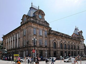 São Bento railway station - The main facade of the São Bento Railway Station