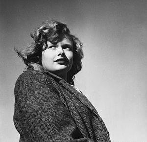 Esther Bubley - A student at Woodrow Wilson High School, Washington DC, 1943