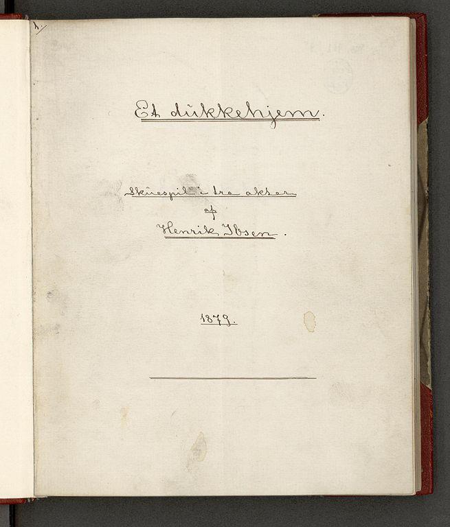 Original manuscript. (Photo: Wikimedia Commons, Open License )