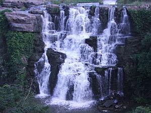Ethipothala Falls - Image: Ethipothala Water Falls