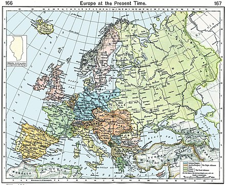Europe during the Belle Epoque Europe 1911.jpg
